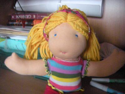 La mia prima bambola si chiama Giulia