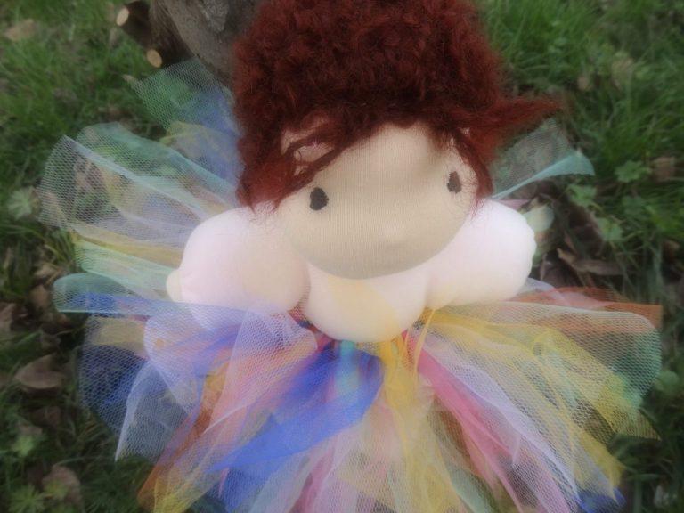 tutù bambola waldorf